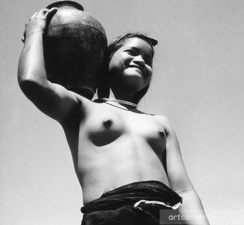 Đà Lạt xưa - The Lạch Woman in Đà Lạt - Phụ Nữ Lạch ở Đà Lạt - 1957