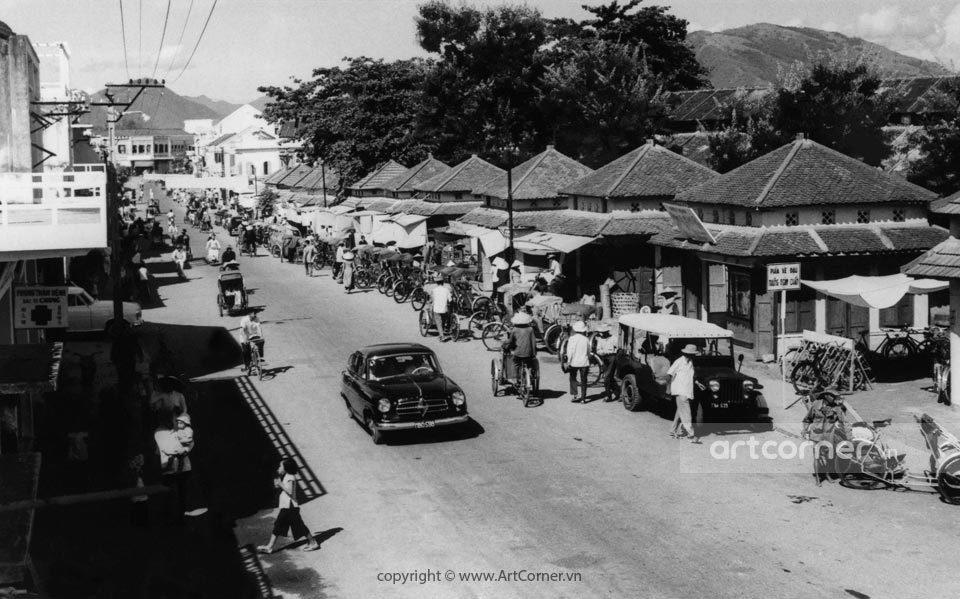 Nha Trang xưa - Đường Phan Bội Châu - Phan Bội Châu Street - Nha Trang - 1958