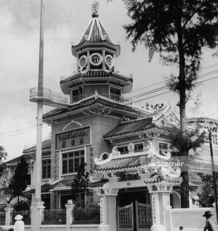 Sài Gòn xưa - Tam Tông Temple - Tam Tông Miếu - Sài Gòn - 1959