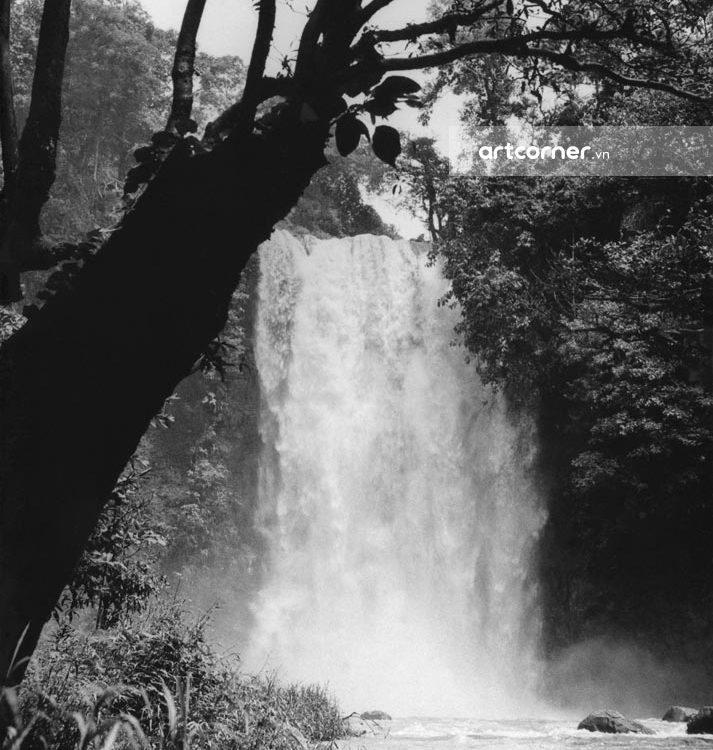 Đà Lạt xưa - Thác Bobla - Bobla waterfall - Di Linh - 1962
