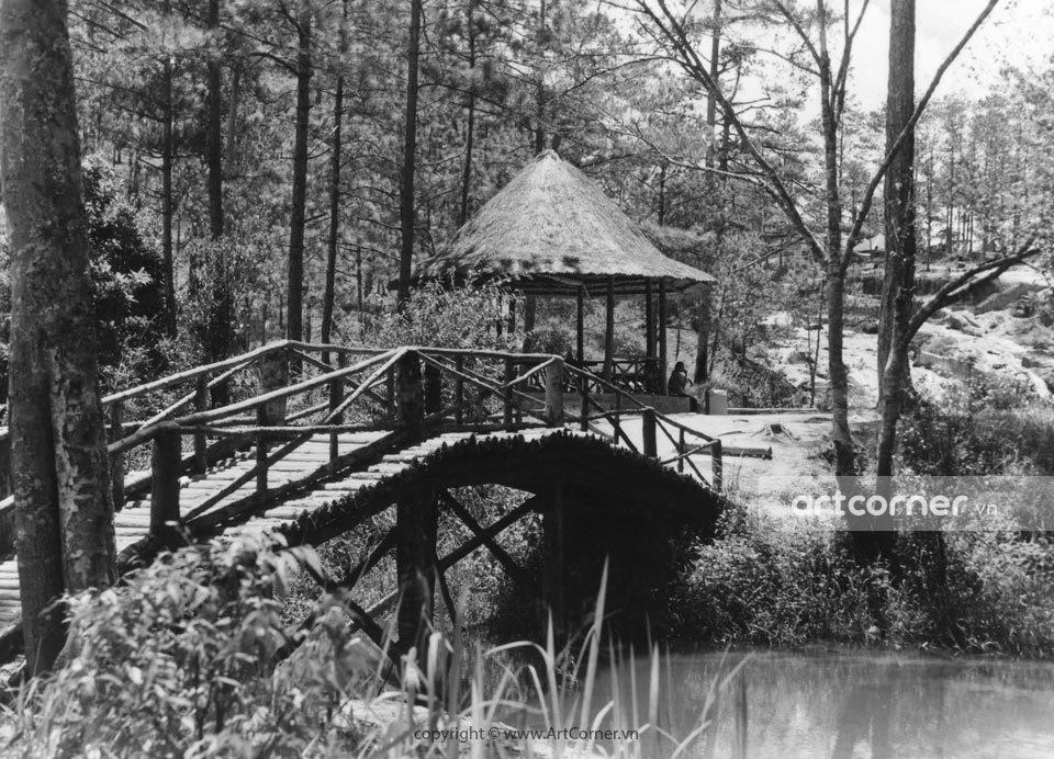 Đà Lạt xưa - Thác Cam Ly - Camly waterfall - Đà Lạt - 1955
