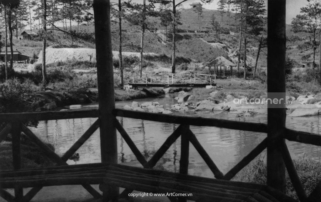 Đà Lạt xưa - Thác Cam Ly - Camly waterfall - Đà Lạt - 1950