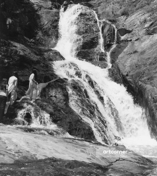 Đà Lạt xưa - Thác Datanla - Datanla waterfall - Đà Lạt - 1967