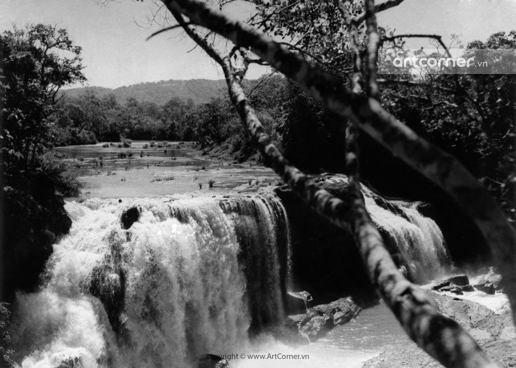 Đà Lạt xưa - Thác Gougah - Gougah waterfall - Đà Lạt - 1957