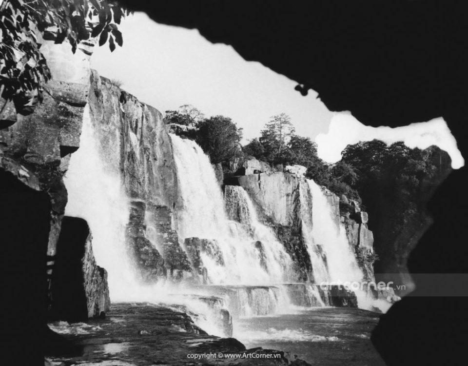 Đà Lạt xưa - Thác Pongour - Pongour waterfall - Đà Lạt - 1957