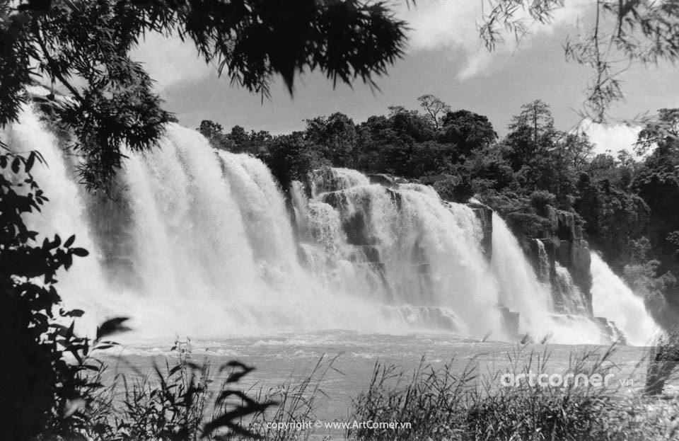 Đà Lạt xưa - Thác Pongour - Pongour waterfall - Đà Lạt - 1960