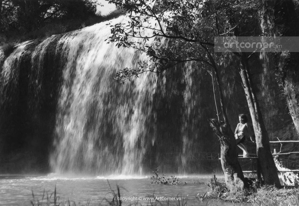Đà Lạt xưa - Thác Prenn - Prenn waterfall - Đà Lạt - 1954