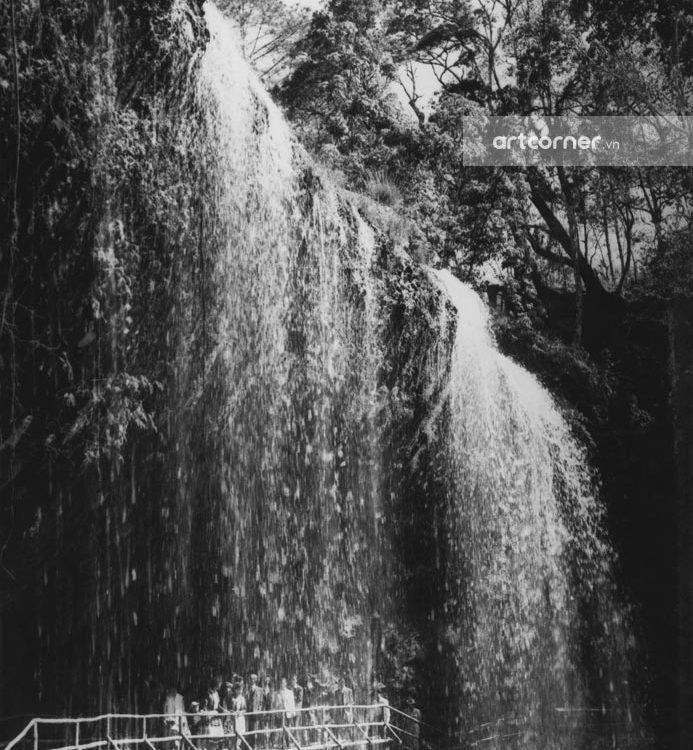 Đà Lạt xưa - Thác Prenn - Prenn waterfall - Đà Lạt - 1957