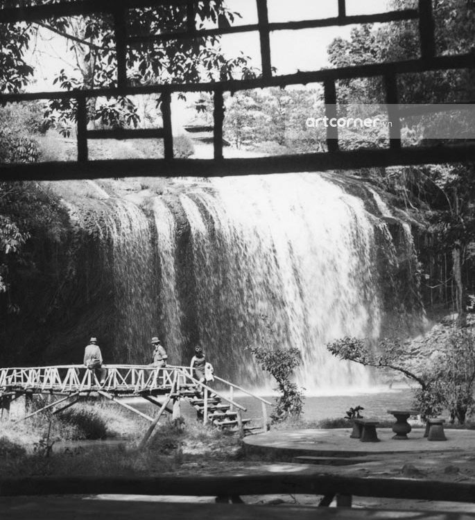 Đà Lạt xưa - Thác Prenn - Prenn waterfall - Đà Lạt - 1958