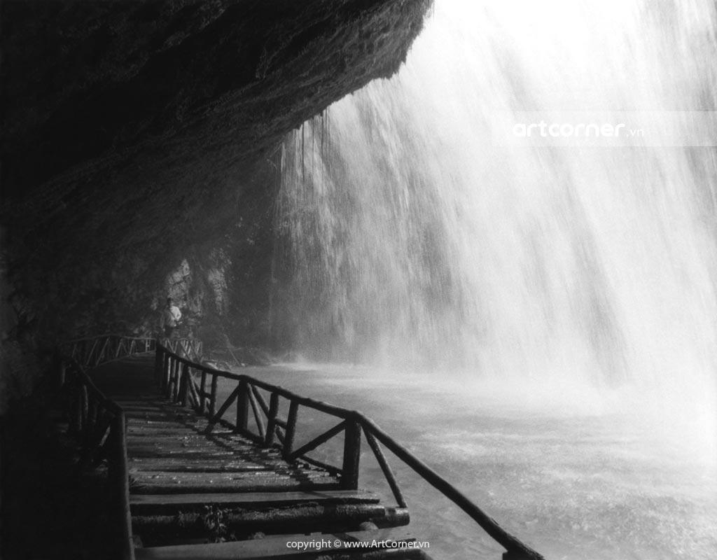 Đà Lạt xưa - Thác Prenn - Prenn waterfall - Đà Lạt - 1962
