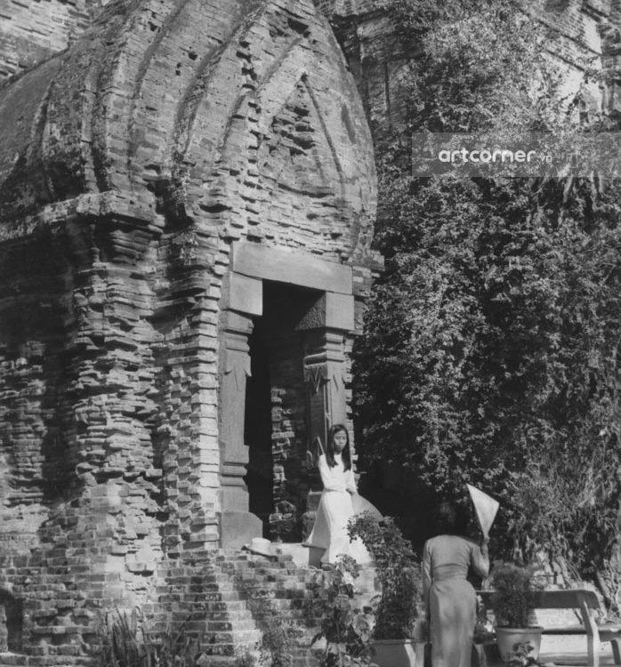 Nha Trang xưa - Tháp Bà - Po Nagar temple - Nha Trang - 1969