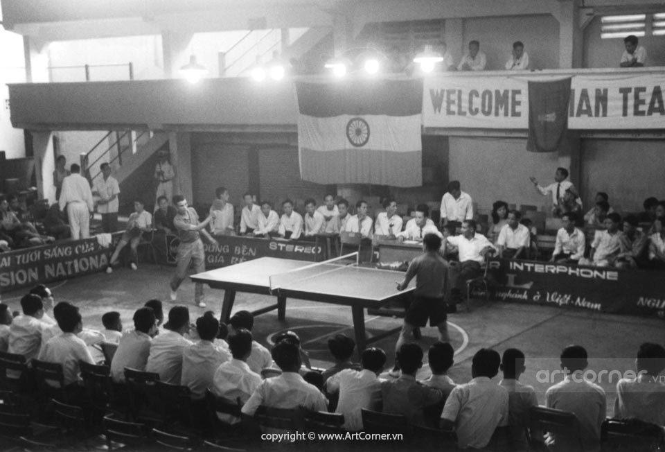 Sài Gòn xưa - International Table Tennis Tournament - Thi đấu Bóng bàn Quốc tế - Sài Gòn - 1960s