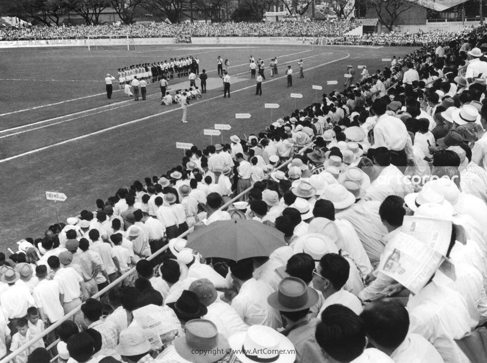 Sài Gòn xưa - Sports competition - Thi đấu thể thao - Sài Gòn - 1960s