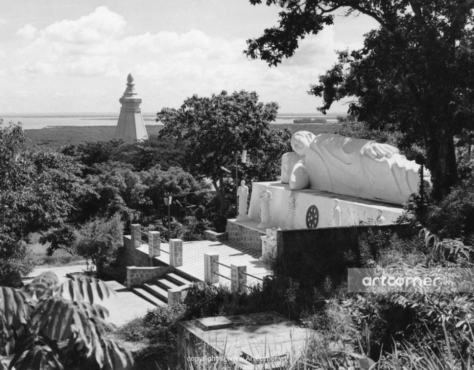 Vũng Tàu xưa - Thích Ca Phật đài - Platform of Shakyamuni Buddha - Vũng Tàu - 1965