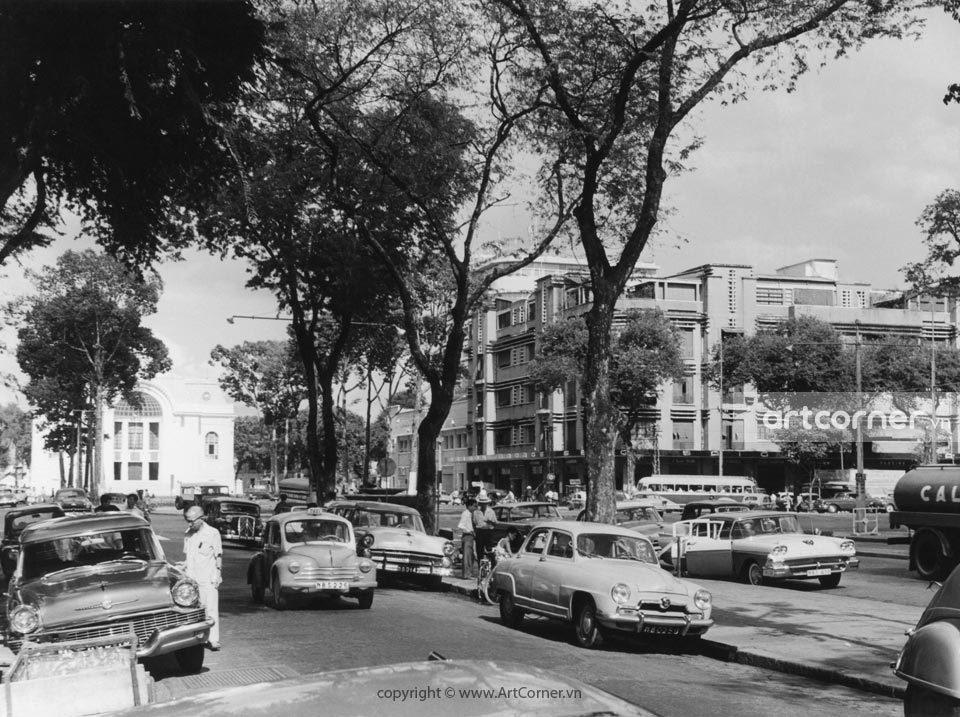 Sài Gòn xưa - National Committee Hall and Lam Sơn Square - Trụ sở Quốc hội và Công trường Lam Sơn - Sài Gòn - 1965