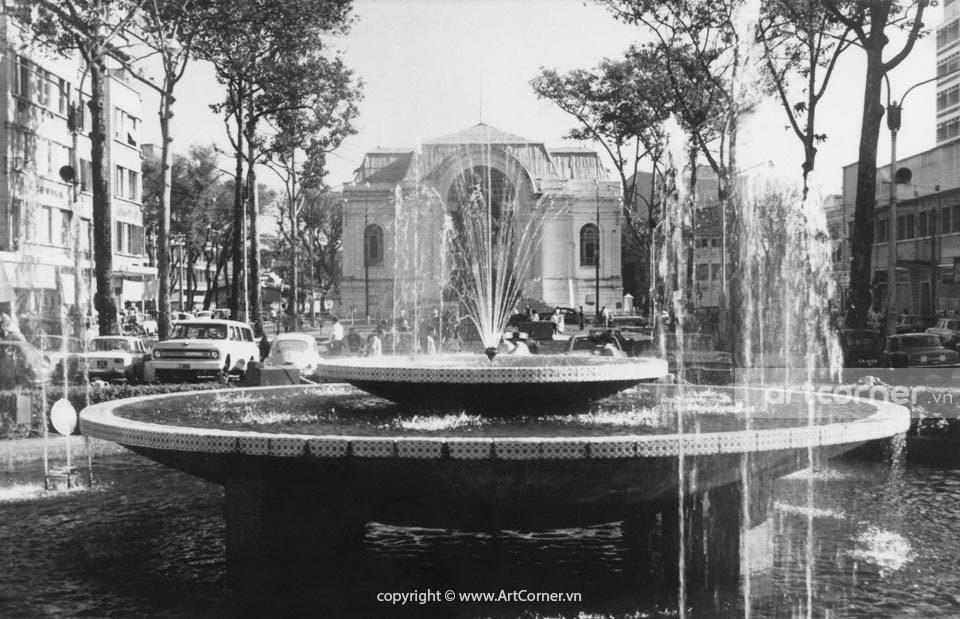 Sài Gòn xưa - National Committee Hall and Lam Sơn Square - Trụ sở Quốc hội và Công trường Lam Sơn - Sài Gòn - 1968