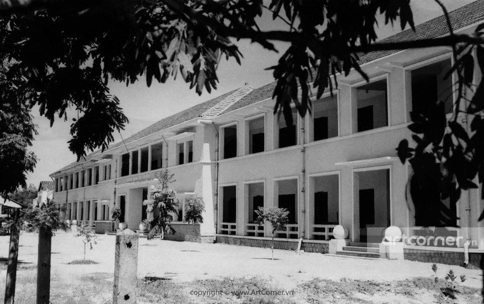 Nha Trang xưa - Trường Trung học Võ Tánh - Võ Tánh high school - Nha Trang - 1955