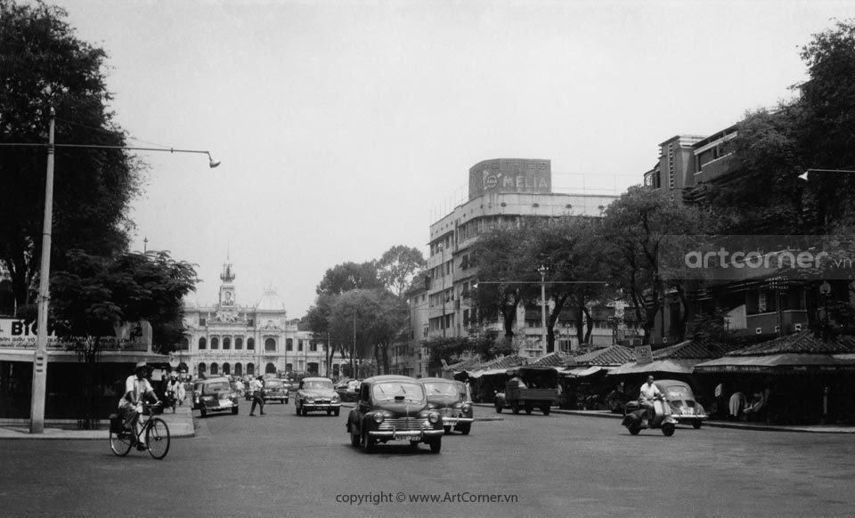 Sài Gòn xưa - The Town Hall - Tòa Đô Chính - Sài Gòn - 1959