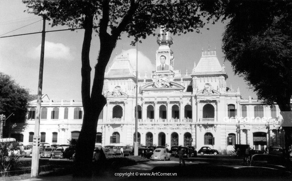 Sài Gòn xưa - The Town Hall - Tòa Đô Chính - Sài Gòn - 1961