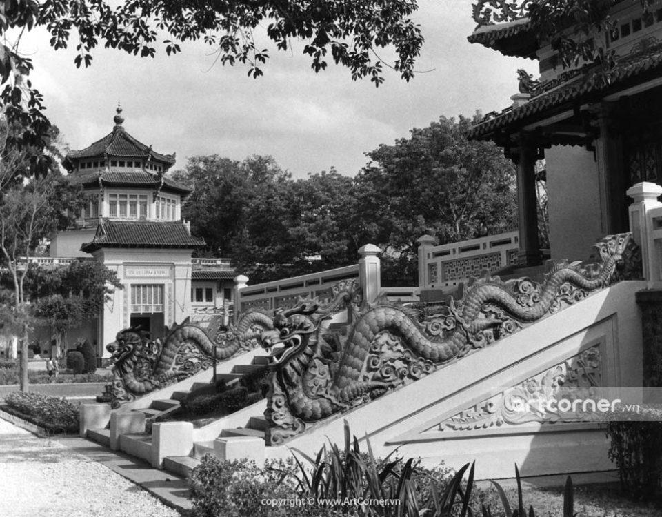 Sài Gòn xưa - The National Museum and King Hùng Temple - Viện Bảo tàng và Đền Hùng Vương - Sài Gòn - 1957
