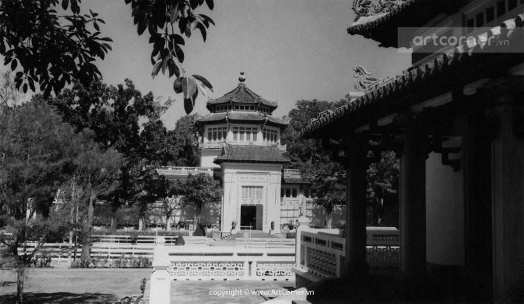 Sài Gòn xưa - The National Museum and King Hùng Temple - Viện Bảo tàng và Đền Hùng Vương - Sài Gòn - 1959