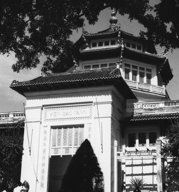 Sài Gòn xưa - The National Museum - Viện Bảo tàng - Sài Gòn - 1959