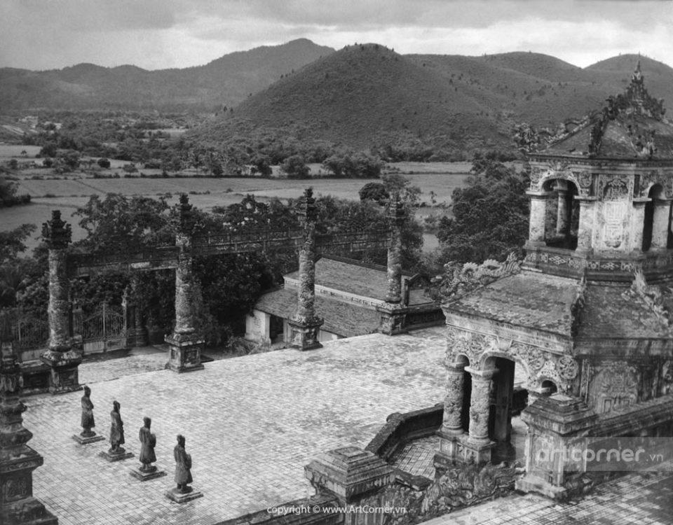 Huế xưa - Lăng Khải Định - Tomb of Khải Định - Huế - 1959