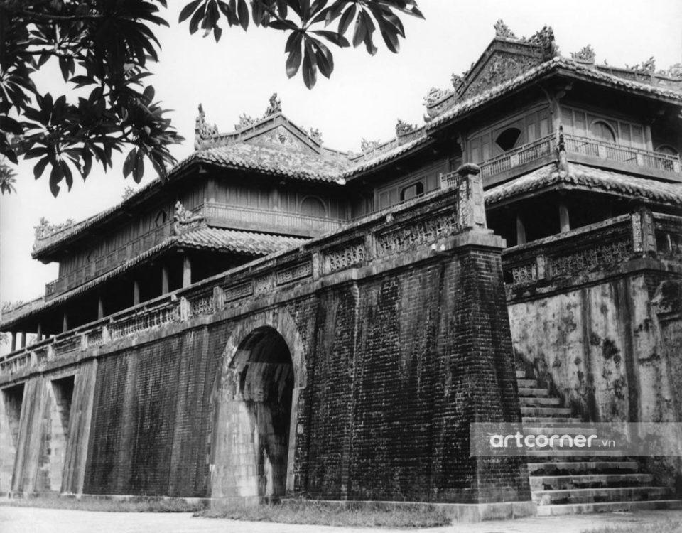 Huế xưa - Ngọ Môn - Ngọ Môn Gate - Huế - 1959