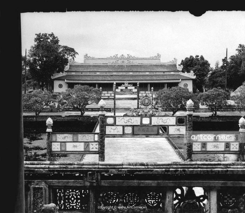 Huế xưa - Điện Thái Hòa - Thài Hòa Palace - Huế - 1959