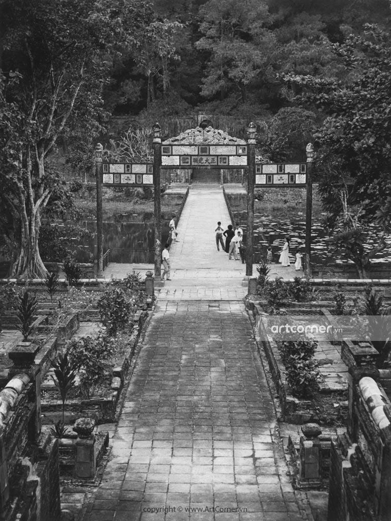 Huế xưa - Lăng Minh Mạng - Tomb of Minh Mạng - Huế - 1959