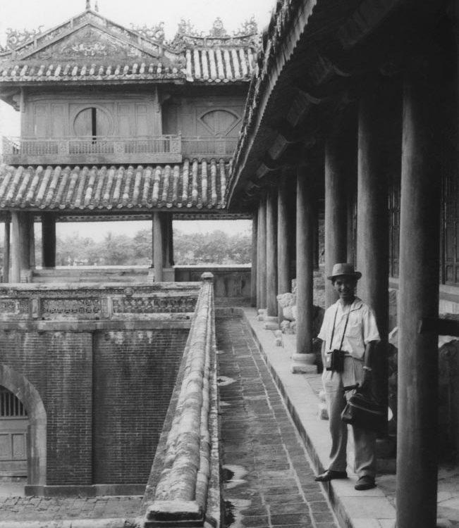 Huế xưa - Lầu Ngũ Phụng - Five Phoenix Pavilion - Huế - 1961
