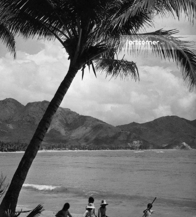 Nha Trang xưa - Bãi Dương - Dương Beach (Poplar Beach) - Nha Trang - 1965