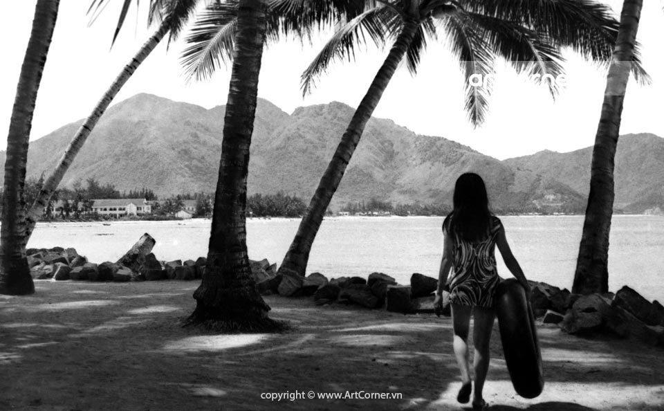 Nha Trang xưa - Bãi Dương - Dương Beach (Poplar Beach) - Nha Trang - 1968