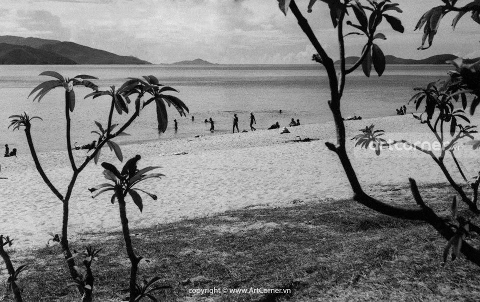 Nha Trang xưa - Biển Nha Trang - Nha Trang Beach - 1962
