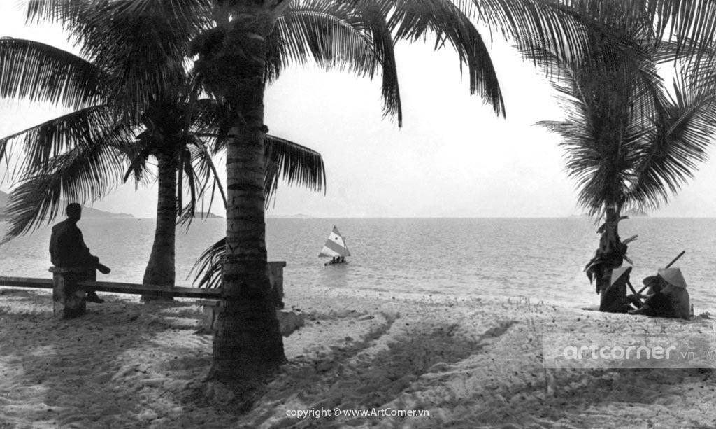 Nha Trang xưa - Biển Nha Trang - Nha Trang Beach - 1965