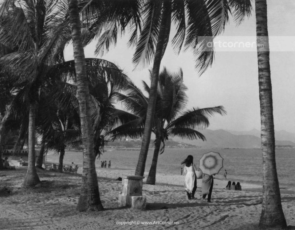 Nha Trang xưa - Biển Nha Trang - Nha Trang Beach - 1970