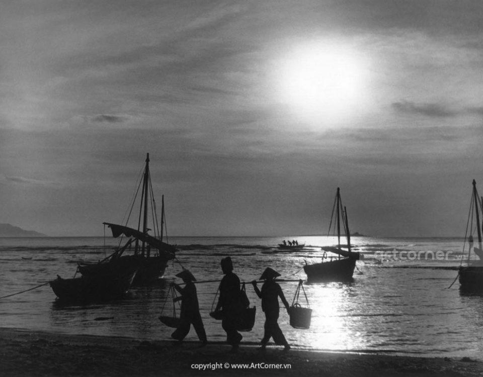 Nha Trang xưa - Biển Nha Trang - Nha Trang Beach - 1959