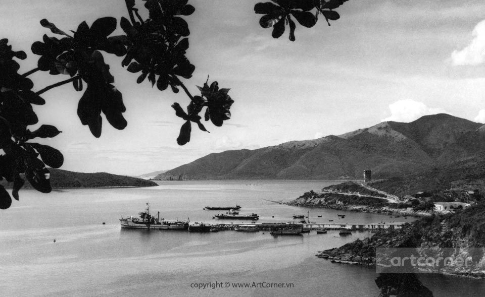 Nha Trang xưa - Cảng Cầu Đá - Đá Bridge - Nha Trang - 1959