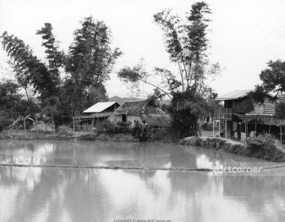 Nha Trang xưa - Làng quê Việt - Việt Nam countryside - Nha Trang - 1969