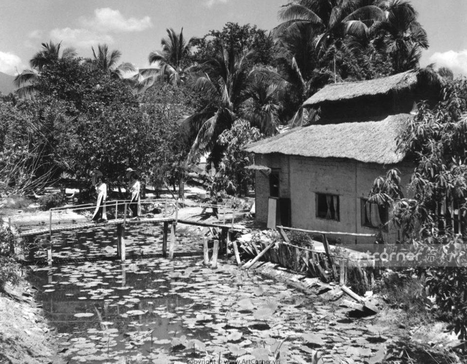 Nha Trang xưa - Làng quê Việt - Việt Nam countryside - Nha Trang - 1970