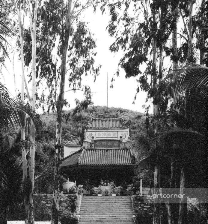 Nha Trang xưa - Chùa Long Sơn - Long Sơn Pagoda - Nha Trang - 1959