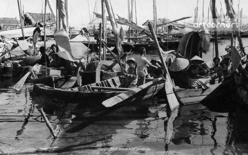 Nha Trang xưa - Làng chài - Nha Trang - 1957