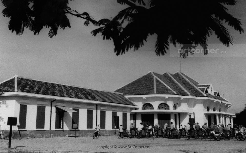 Nha Trang xưa - Ga Nha Trang - Nha Trang railway station - 1957
