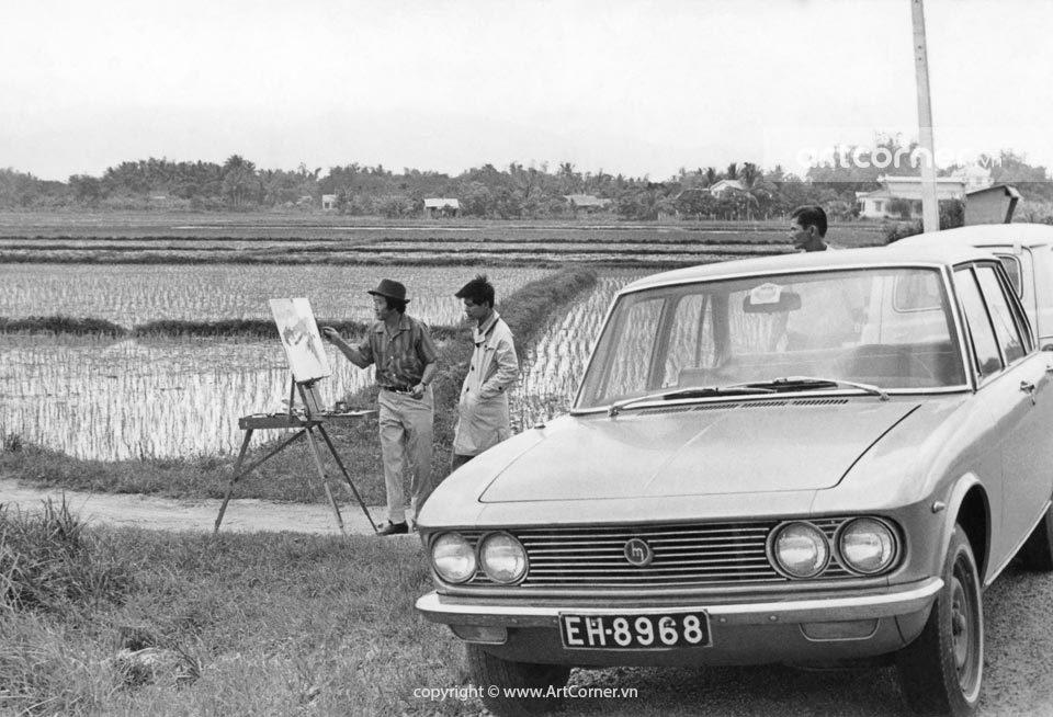 Nha Trang xưa - Họa sĩ Nguyễn Trí Minh - 1973