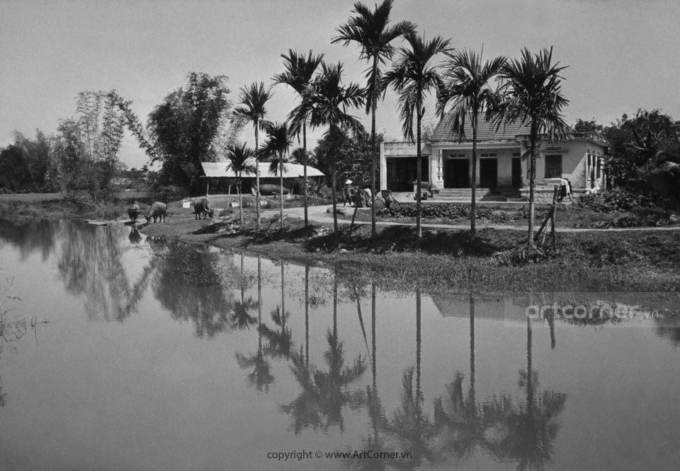 Nha Trang xưa - Làng quê - Countryside sight - Nha Trang -1967