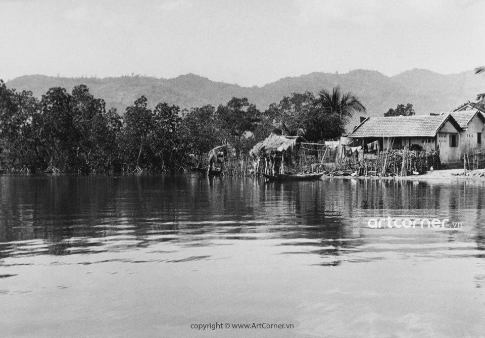 Nha Trang xưa - Miền quê - Countryside sight - Nha Trang - 1965