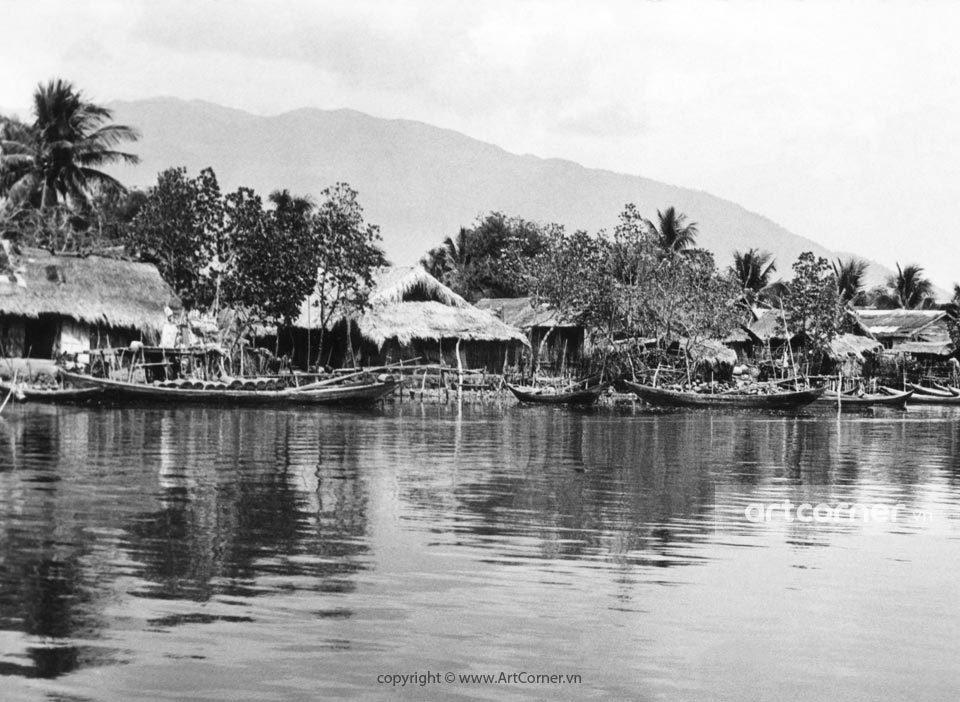 Nha Trang xưa - Miền quê - Countryside sight - Nha Trang - 1971