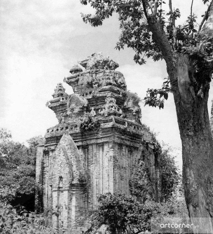 Nha Trang xưa - Tháp Bà Po Nagar - Po Nagar temple - Nha Trang - 1957