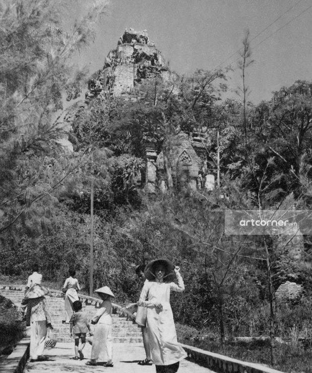 Nha Trang xưa - Tháp Bà Po Nagar - Po Nagar temple - Nha Trang - 1960