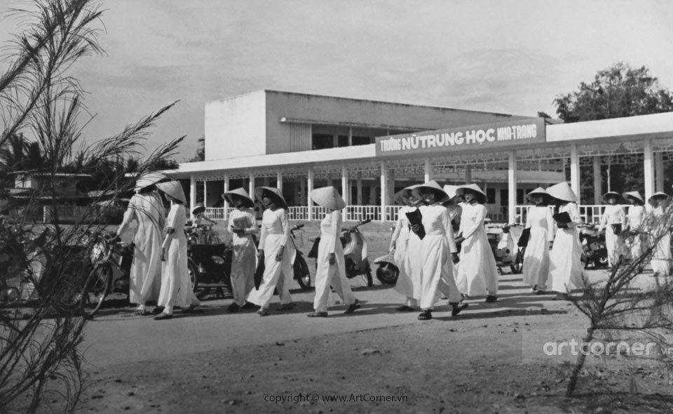 Nha Trang xưa - Trường Nữ Trung học Nha Trang - 1965